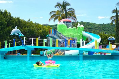 Conoce el Parque acuático San Carlos y disfruta de sus aguas termales
