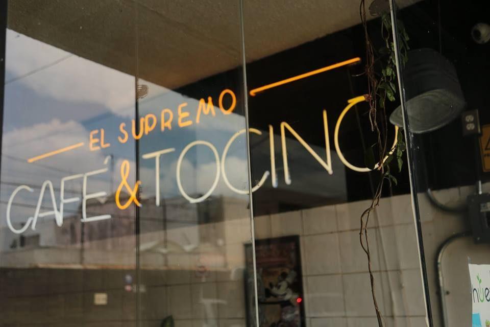 Restaurantes en Puebla: Café y Tocino