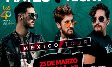 Abraham Mateo + Mau & Ricky Puebla 2019