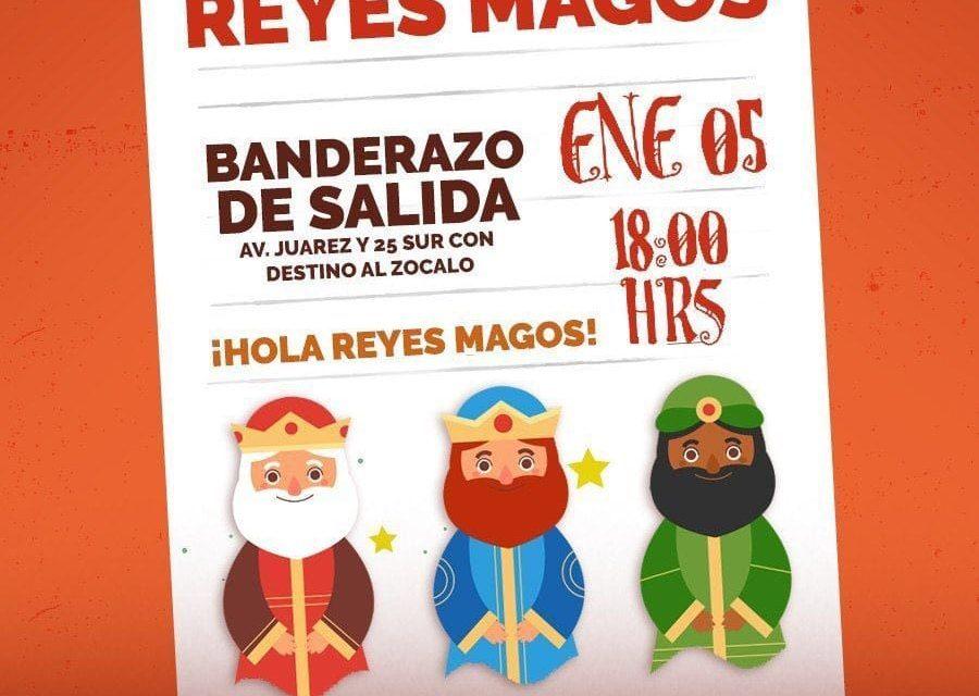 Desfile de Reyes Magos en Puebla