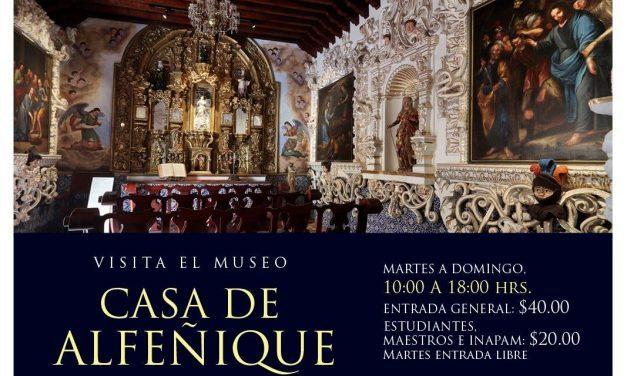 ¡Casa de Alfeñique el primero museo de Puebla!