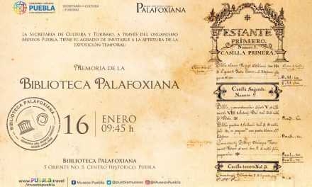 No te pierdas la inauguración de una nueva exposición en laBiblioteca Palafoxiana.