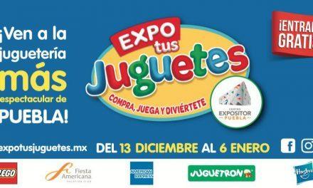 Expo tus Juguetes Puebla 2018 – 2019