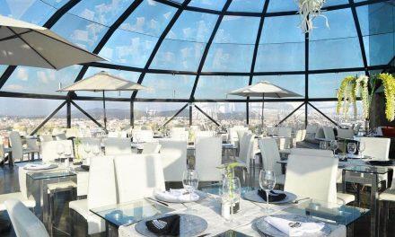 En La Cúpula Restaurante disfruta de la mejor vista de la Ciudad de Puebla