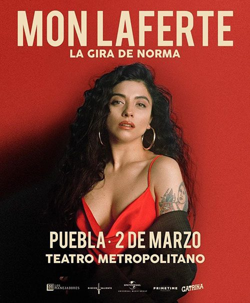 Mon Laferte en Puebla