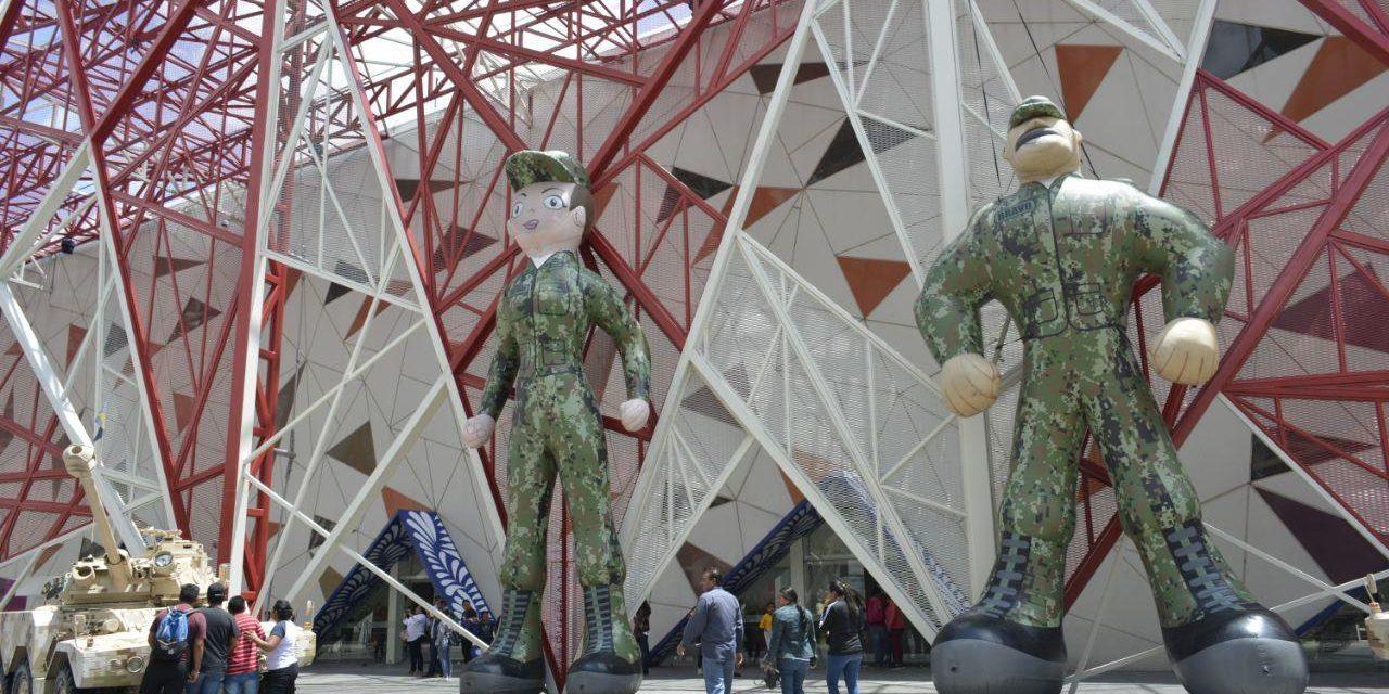 "ExpoMilitar ""La Gran Fuerza de México"""