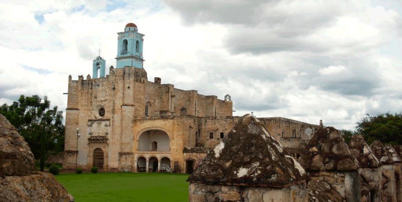 Ex Convento de Huaquechula, a un paso del olvido