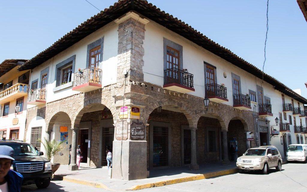 El histórico Hotel Zacatlán