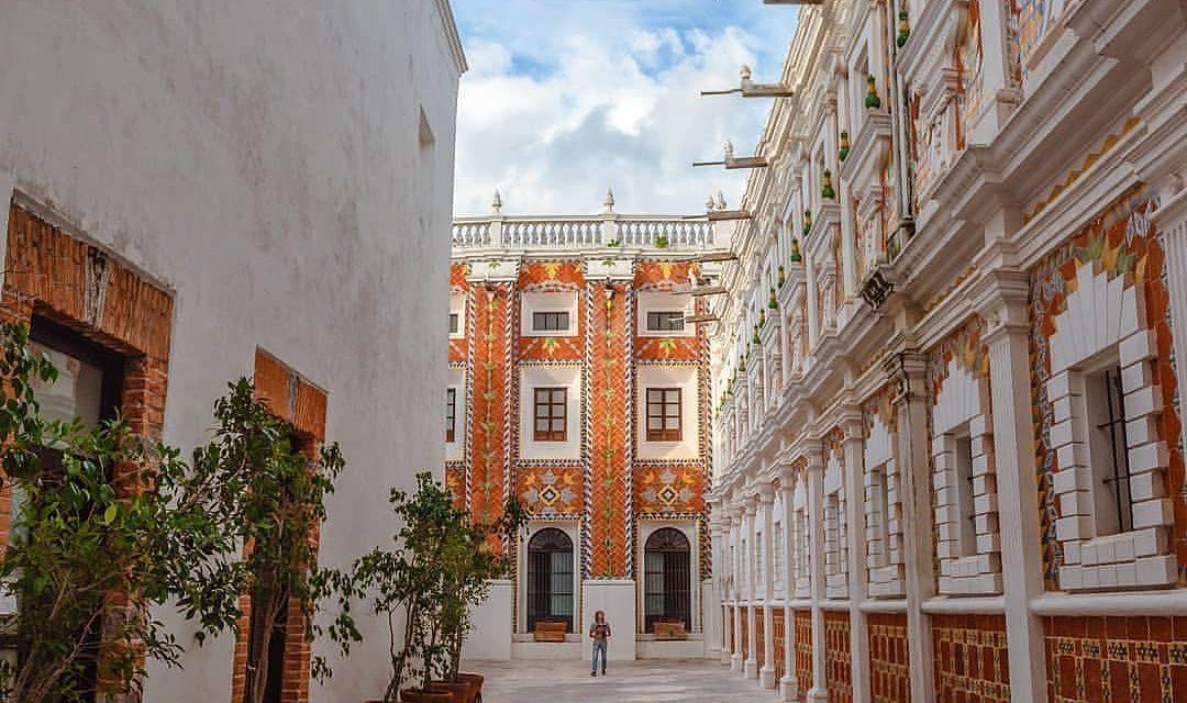 Patio de los azulejos Puebla