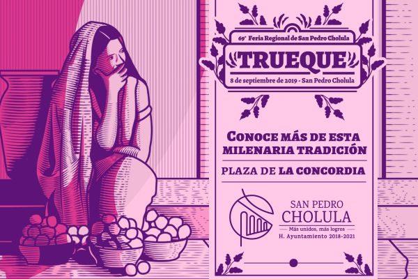 El Trueque una tradición milenaria en San Pedro Cholula