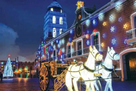 La navidad en  Puebla