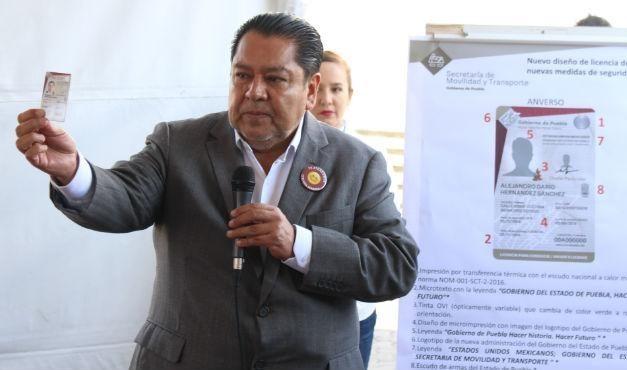 Conoce el nuevo diseño de las licencias en Puebla