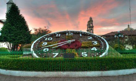 Vísita en Zacatlán: El reloj Floral