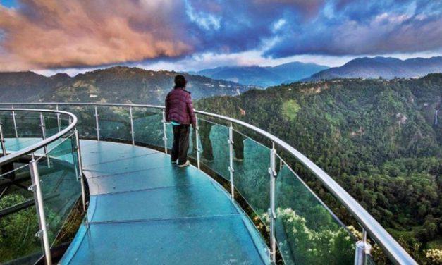 Mirador de Cristal en Zacatlán