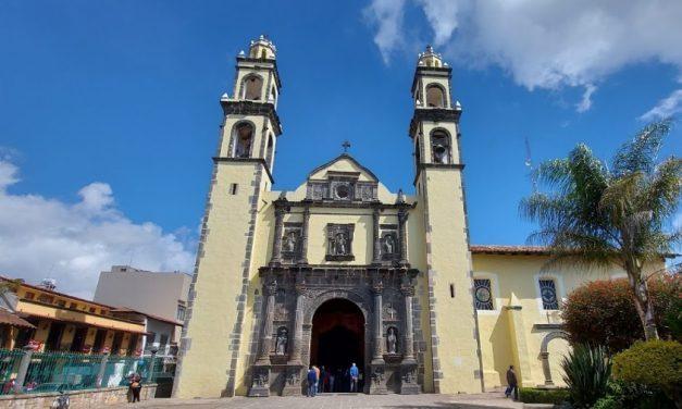 Parroquia de San Pedro y San Pablo en Zacatlán