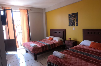 Hospédate en Hotel Rafael en Zacatlán