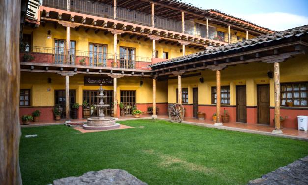 Hospédate en Posada don Ramón en Zacatlán