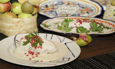 Ofrecen primera muestra gastronómica de chiles en nogada en Museo Virreinal